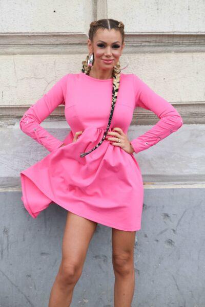 Ashbury rózsaszín Alex ruha