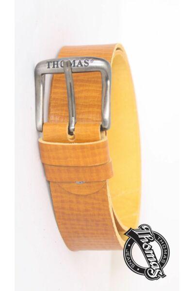 Sárga férfi hagyományos bőröv