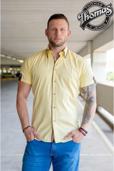 Sárga rövidujjú ing