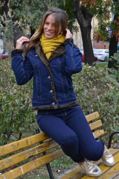 Thomas Jeans bélelt női dzseki